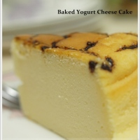 Baked Yogurt Cheese Cake