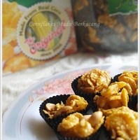 Cornflakes Madu Berkacang