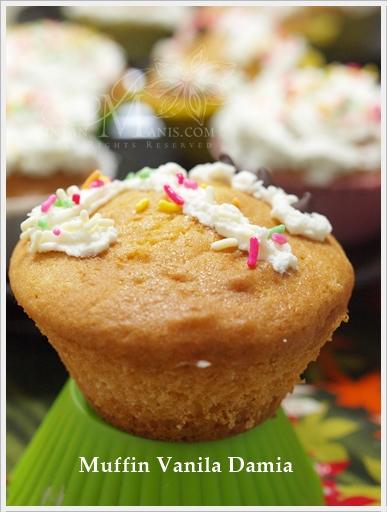 Muffins Vanila Damia