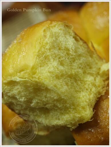 Golden Pumpkin Bun