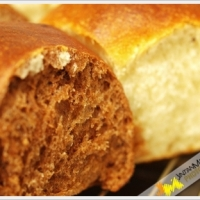 Plain and Choco Banana Bun