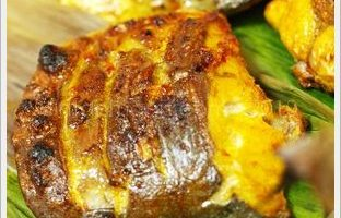 Ikan Hamachi Bakar Berlada